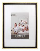 Wooden Picture Frame M2024 - Black / Unvarnished
