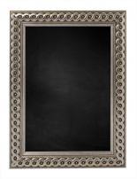Wooden Blackboard M2711 - Silver
