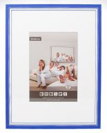 Wooden Picture Frame M302 - 3D - Blue