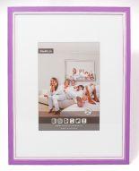 Wooden Picture Frame M302 - 3D - Violet