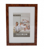 Wooden Picture Frame M290 - Burr Walnuts